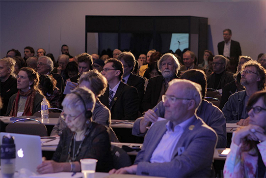 Das World Uranium Symposium in Québec, Foto: Nature Quebec