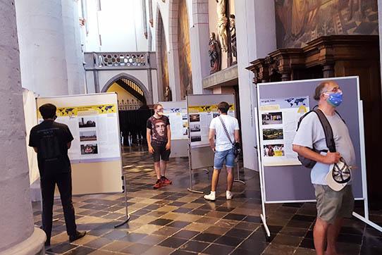 Ausstellung Hibakusha Weltweit in der Aachener Citykirche. Foto: IPPNW
