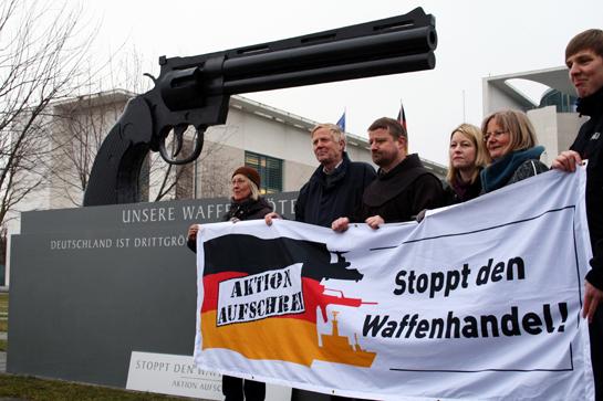 Aktion Aufschrei. Stoppt den Waffenhandel