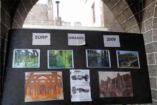 Der Wiederaufbau der Armenischen Kirche in Diyarbakir. Foto: Gisela Penteker/IPPNW