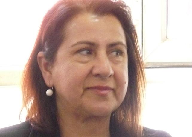 Co-Bürgermeister Kandidatin Nülüfer Elik Yilmaz aus Kiziltepe