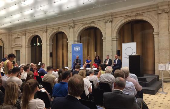 """Veranstaltung der DGVN """"Deutschlands globale Verantwortung - Zwischenbilanz der Mitgliedschaft im UN-Sicherheitsrat"""" am 28.08.2019, Foto: Katharina Kohler"""