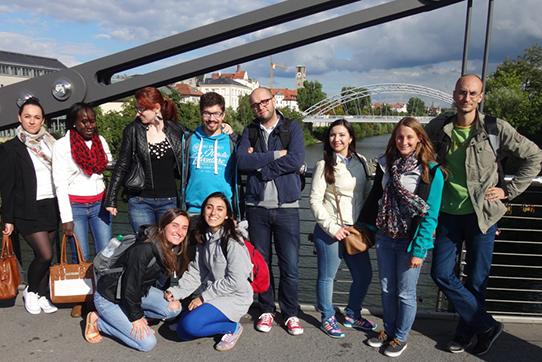 """IPPNW-Projekt """"Bridges of Understanding"""" 2014: Gemeinsamer Ausflug der Studierenden nach Bamberg"""