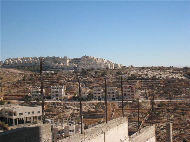 """Die israelische Siedlung """"Har Choma"""" in der Nähe von Jerusalem"""