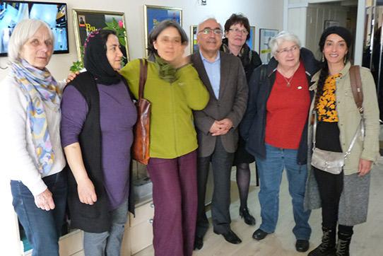 Bei der IHD in Ankara