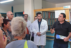 Hebron Emergency Center. Foto: IPPNW