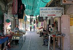 Altstadt von Hebron. Foto: IPPNW