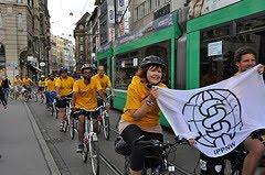 IPPNW-BAN-Fahrradtour Basel