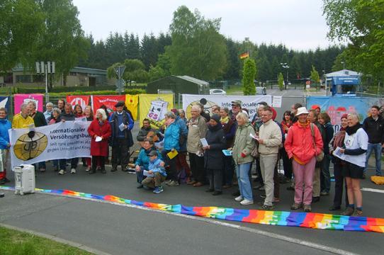 Internationaler Versöhnungsbund, 16. Mai; Foto:www.buechel-atomwaffenfrei.de