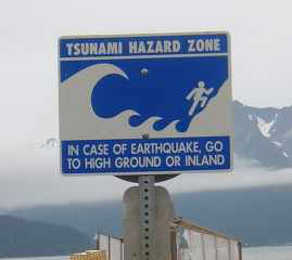 Tsunami Hazard Zone, Foto: Harriv / CC BY-SA 3.0