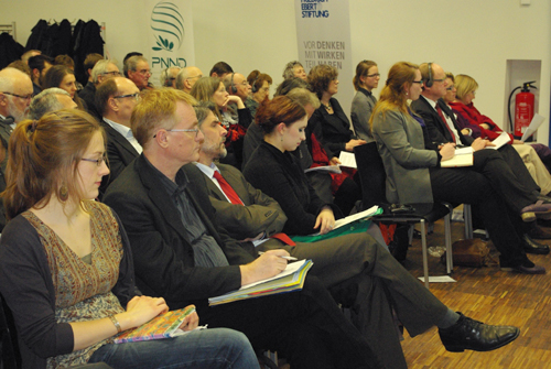 """Wege zur atomwaffenfreien Welt"" am 20. Februar 2013 in der Humboldt-Universität Berlin"