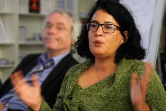 Sharon Dolev, Friedensaktivistin und Campaignerin der ICAN Israel