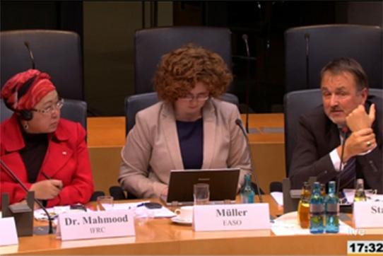 Öffentliches Expertengespräch des Bundestags-Ausschusses für Menschenrechte am 17. Februar 2016, Foto: Deutscher Bundestag