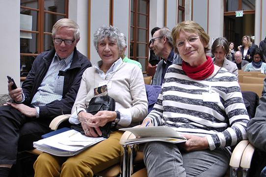 """Fachkonferenz """"Den Atomausstieg vollenden – 30 Jahre Tschernobyl"""" am 6. April 2016 im Bundesumweltministerium. IPPNW-Mitglieder unter den TeilnehmerInnen. Foto: Hannah Mertgen"""