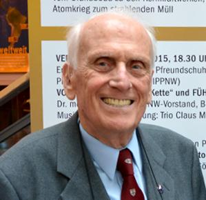 Prof. Dr. Ulrich Gottstein, Foto: Isolde Asbeck