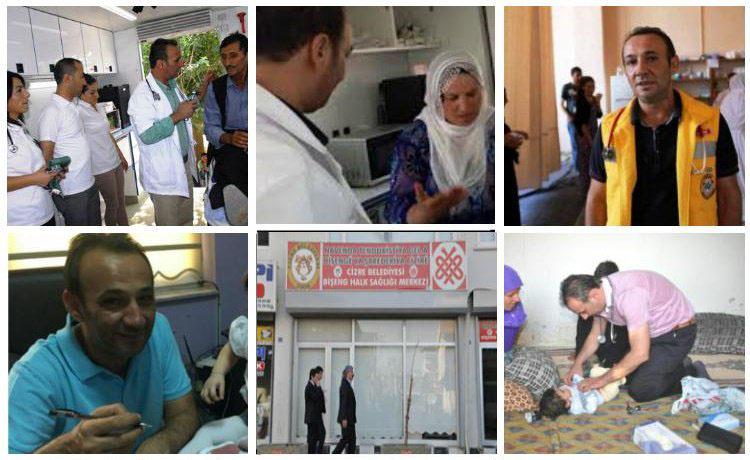 Solidaritätskampagne der türkischen Menschenrechtsstiftung für Dr. Serdar Küni. Foto: TIHV