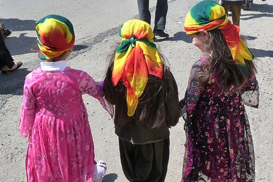Newroz-Feier in Diyarbakir, Foto: IPPNW