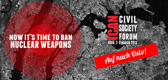 Oslo ICAN Civil Society Forum on humanitarian consequences of nuclear weapons
