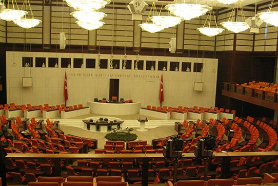 Krieg in derTürkei - Urlaub im Parlament , Foto: privat