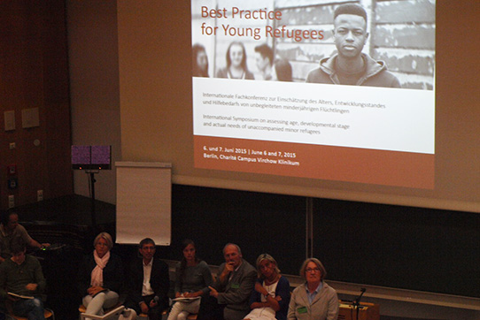 "Internationale IPPNW-Fachkonferenz ""Best Practice for Young Refugees, 6./7. Juni 2015 in Berlin."